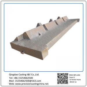 Customized Lining Plate Magotteaux high Mn steel cast impact crusher liner plate