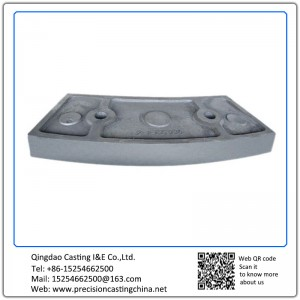 Customized Lining Plate OEM heat resistant alloy steel castings