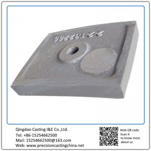 Customized Lining Plate OEM heat resistant alloy steel Resin Sand Casting