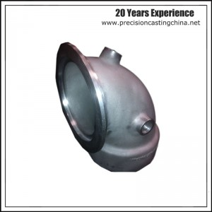 Resin Coated Sand Casting Malleable Iron Elbow Pipe Fittings