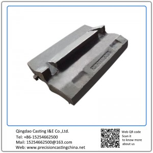 Customized Magotteaux high manganese steel Ore Crushers Resin Sand Casting