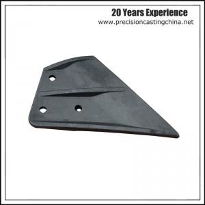 Resin sand casting machine blade ductile iron