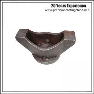 Resin sand casting mild steel with shot blast thread hole