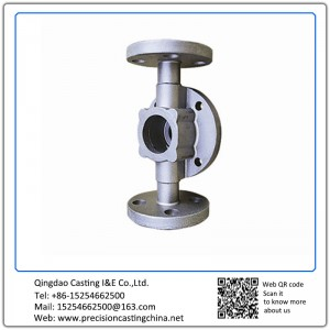 Customized OEM Valve Spare Parts Valve Casing Mild Steel