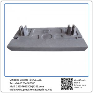 Customized Plate Hammer OEM Carbon Steel Resin-bonded Sand Casting