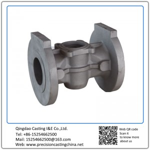 Customized Plug Valve Case Resin Sand Casting Alloy Steel