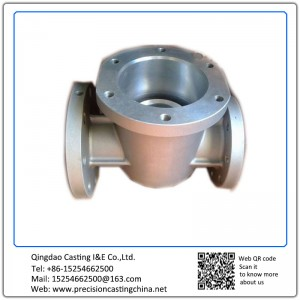 Customized Plug Valve Housing Resin Sand Casting Spherical Graphite Cast Iron