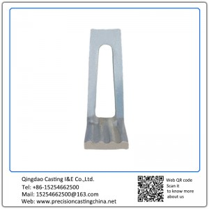 Customized Pressing Strip Crusher Spare Parts Resin Sand Casting 25kg