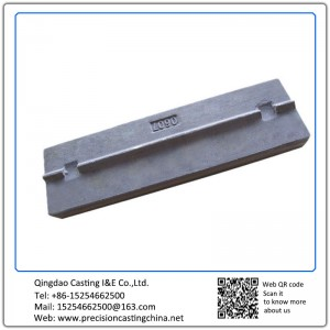 Customized Pressing Strip Crusher Spare Parts Resin Sand Casting