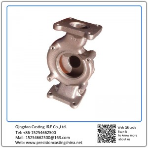 Customized Pump Body Carbon Steel Resin Sand Casting