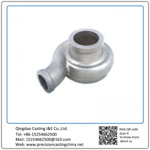 Customized Pump Body CF8 Stainless Steel Lost Wax Casting Part Max Weight 80kg Impeller Silica Sol
