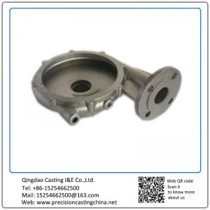 Customized Pump Casing Alloy Steel Resin Sand Casting