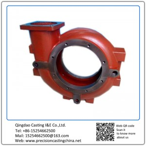Customized Pump Casing Ductile Iron Resin Coated Sand Casting