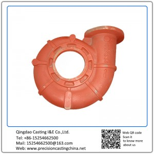 Customized Pump Housing Carbon Steel Resin-bonded Sand Casting