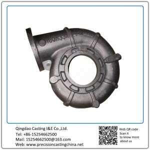 Customized Pump Shell Ductile Iron Shell Mould Casting Water Pump Spare Parts Components