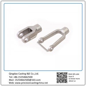 Customized Resin Coated Sand Casting Carbon Steel Automotive Support Bracket Parts