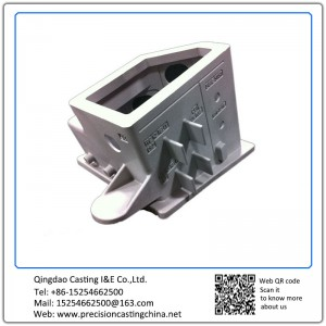Customized Resin Coated Sand Casting Nodular Iron National Defense Components
