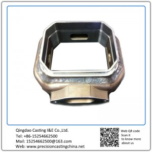 Customized Resin Sand Casting Carbon Steel Welded Housing