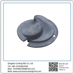 Customized Screw Auger Casting Mining Machinery Parts Nodular Iron