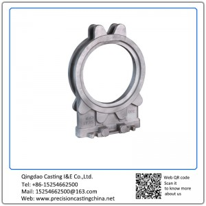 Customized Spherical Cast Iron Knife Gate Valve Housing Clay Sand Casting