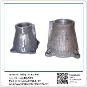 Customized Spherical Graphite Cast Iron Vessel Break Housing Resin Sand Casting