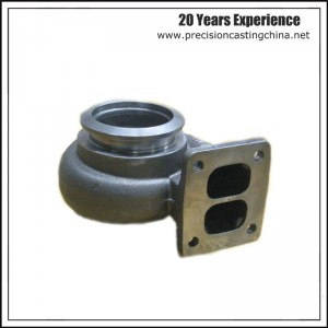 Turbocharger Ductile Iron Silica Sol Lost Wax Investment Casting Truck Parts