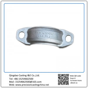 Customized Stainless steel Valve clamp clip resin sand casting