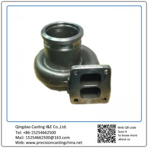 Customized Turbocharger Alloy Steel Solid Investment Casting  Auto Parts