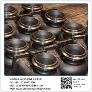 Customized Turbocharger Ductile Iron Silica Sol Lost Wax Investment Casting