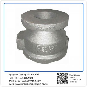 Customized Valve Body Ductile Iron Clay Sand Casting