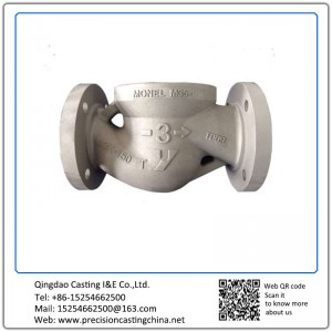 Customized Valve Shells Spherical Graphite Cast Iron Resin Coated Sand Casting