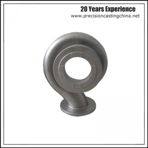 Water Pump Shell Resin-bonded Sand Casting Alloy Steel