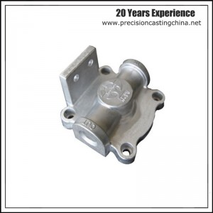 Aluminium Gravity Casting Lubrication System Parts Engine Components