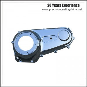 Aluminium Gravity Casting Motorcycle Parts Gearbox Cover