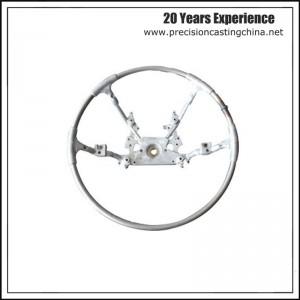 Aluminium Gravity Casting Steering Wheel Vehicle Parts