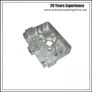 Aluminum Alloy Die Casting Appliance Housing Spare Parts