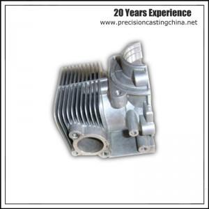 Aluminum die casting air compressor cylinder head