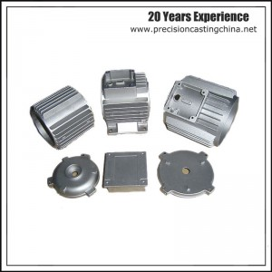 Aluminium Gravity Casting Motor Body Engine Part