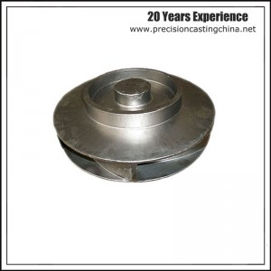 Alloy Steel Precoated Sand Casting Pump Impeller Parts