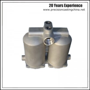 Oil Filter Base Body Water Pump Spare Parts Components