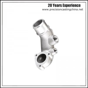 Die Casting Aluminum Exhaust Part Engineering Machinery Parts