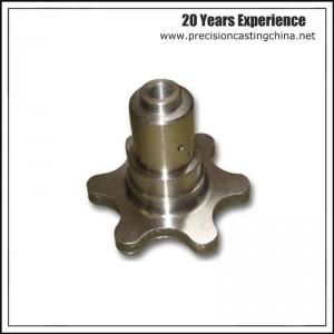 Alloy Steel Sprocket with CNC Machining Shell Mould Casting