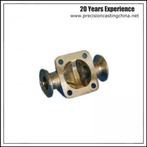 CNC Machined  Automotive Pump Components Precision Casting Malleable Iron