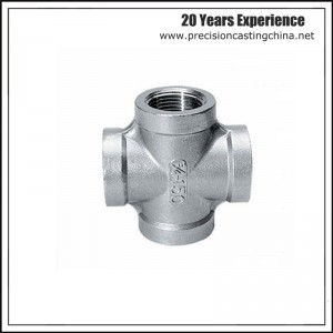 CNC Machined  Crossing Pipeline Investment Casting Spherical Graphite Cast Iron
