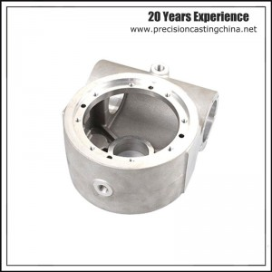 CNC Machined Casting Aluminum Pump Housing Engine Crankcase