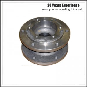 CNC Machined Fluid Handling Spare Parts with Flange Precision Casting Alloy Steel