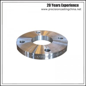 CustomizedCarbon Steel flange Soluble Glass Casting Power Generation Industries Components