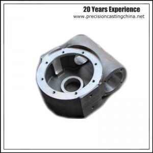 Machined Carbon Steel Valve Control Body Resin Sand Casting