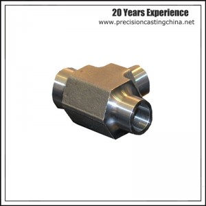 Machined Casting Straight Tee Investment Casting