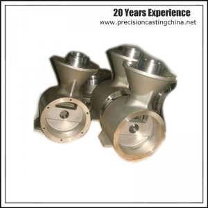 Machined Clay Sand Casting Valve Part Spherical Cast Iron